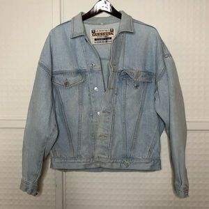 Vintage GUESS by Marciano 80s Denim Jacket